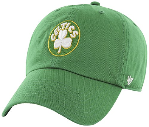 NBA Boston Celtics '47 Clean Up Adjustable Hat, Kelly, One Size (Hats Celtics)