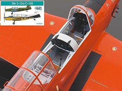 HPH Model 1:32 Zlin Z-126 AIrcraft - Multimedia Model Kit #32010R