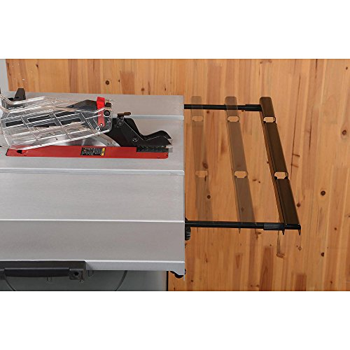 """Craftsman Portable Table Saw with Mobile Wheeled Stand – 10"""" Powerful Heavy Duty Rolling Table Saw"""