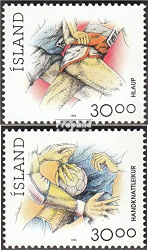 Iceland 780-781 (Complete.Issue.) unmounted Mint/Never hinged 1993 Sports (Stamps for Collectors) ()