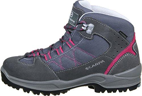 Scarpa Cyclone Kid Zapatillas de senderismo niños gris rosa