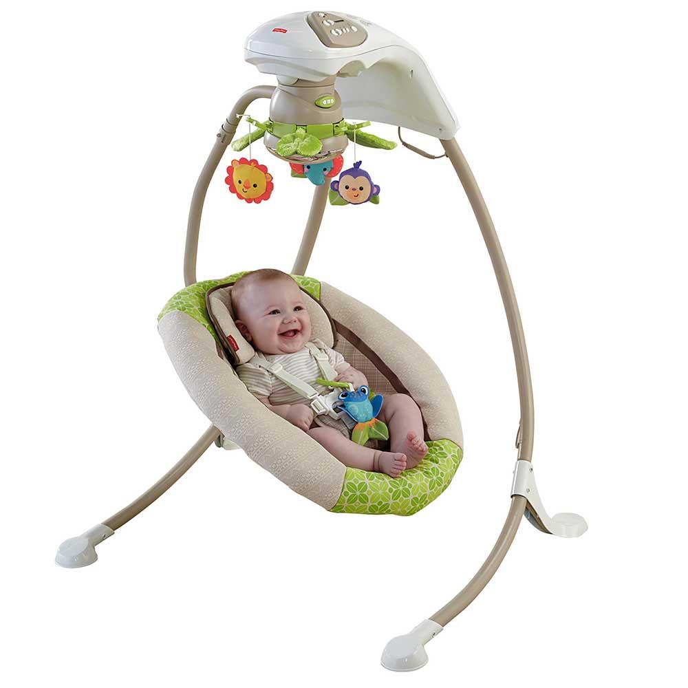 Amazon.com : Fisher-Price Deluxe Cradle 'n Swing