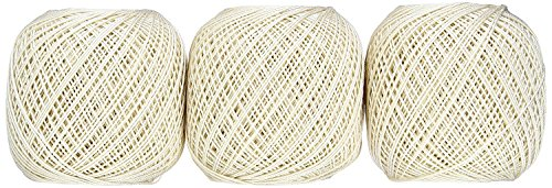 Lace thread GOLD SPECIAL 40 (monochrome) 50 g ballads 3 balls 731 by Olempus made cord