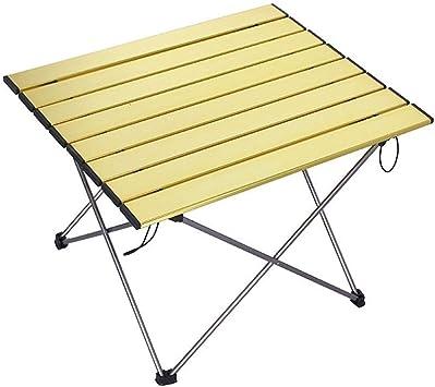 Mesa plegable Camping Picnic Mesa plegable de Aluminio Tour ...