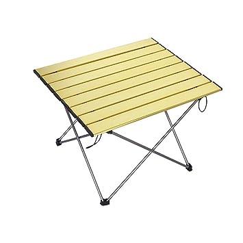 Mesa plegable Camping Picnic Mesa plegable de Aluminio Tour sin ...