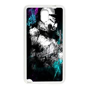 Black mysterious man Cell Phone Case for Samsung Galaxy Note3