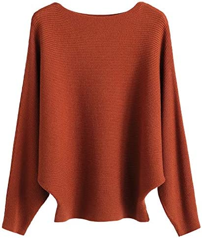 GABERLY Batwing Sleeves Sweaters Pullovers product image