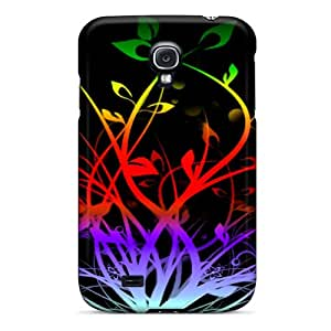 New Flower Vine Tpu Cover Case For Galaxy S4