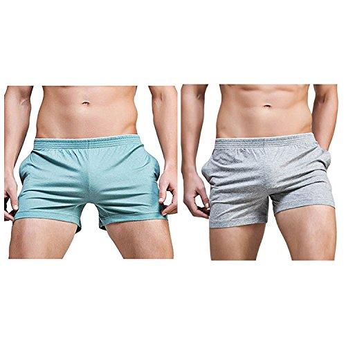 Mens Sexy Underwear - Banana Bucket Men's Running Workout Gym Active Shorts Lounge Sleep Bottoms