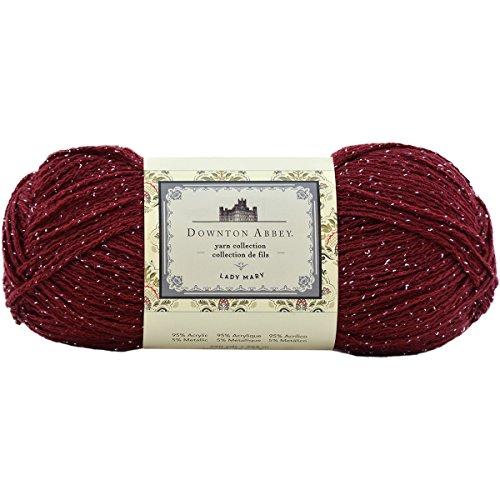 Price comparison product image Premier Yarns DA4004-02 Downton Abbey Lady Mary Yarn,  Crimson Night