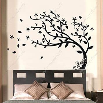 Custom PopDecals   Bedroom Decor Must Have   Elegant Tree   Beautiful Tree  Wall Decals For