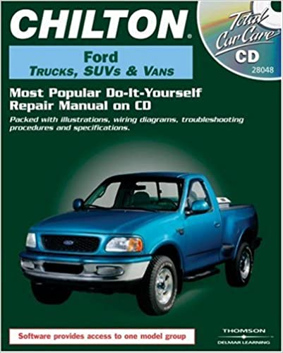 chiltons ford pickups and bronco 1987-96 repair manual pdf