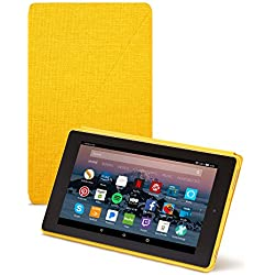 All-New Amazon Fire HD 8 Tablet Case (7th Generation, 2017 Release), Canary Yellow