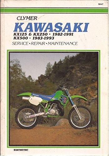 Clymer Kawasaki Kx125 & Kx250 1982-1991; Kx500 1983-1993