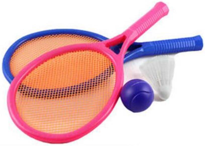 Black Temptation Mini niños encantadores de Raqueta de Tenis de la Bola de los niños Juguetes de bádminton Juguete