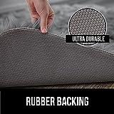 Gorilla Grip Premium Faux Fur Area Rug, Fluffy Shag