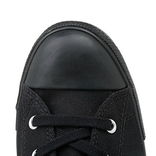 Converse - Zapatillas de lona para mujer negro negro, color negro, talla 37.5