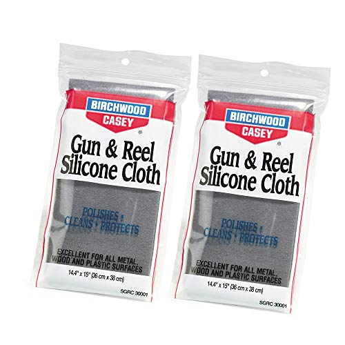 Birchwood Casey Silicone Gun and Reel Cloth (2 Pack) ()