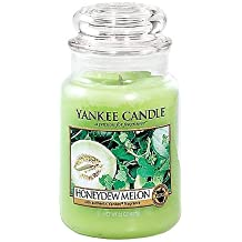 Yankee Candle Company Honeydew Melon Large Jar Candle
