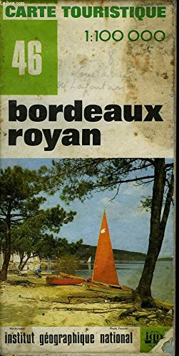 Carte Bordeaux Royan.Amazon Fr Ign Carte Touristique 1 100 000 N 46 Bordeaux