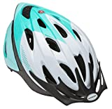 Schwinn SW78268-2 Thrasher Adult Helmet, White/Teal For Sale
