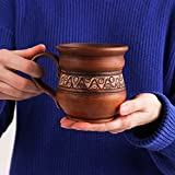 Coffee mug Handmade ceramic Rustic pottery Eco friendly Drinkware tasses