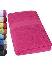 NatureMark saunahanddoek, premium kwaliteit, 80 x 200 cm, sauna-handdoek, 100% katoen