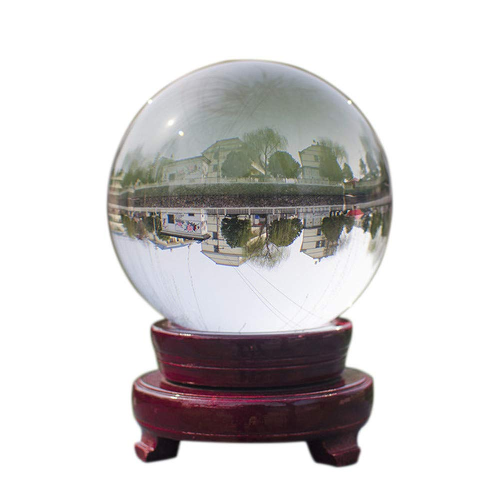 Natural Crystal Clear Ball for Photography or Home Future Telling Toys Decorative Ball Without Stand Pouch 110MM