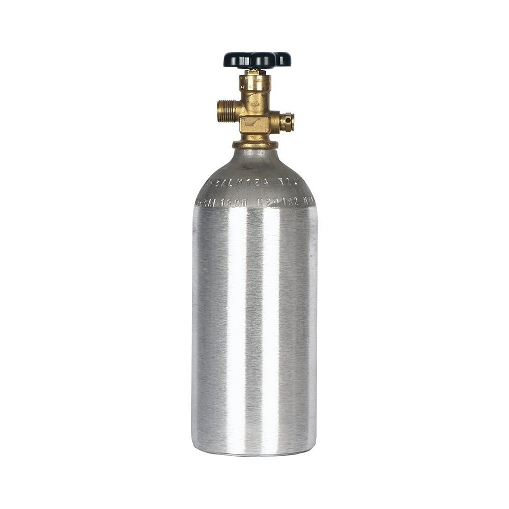 Luxfer CO2 2.5 LB Aluminum Cylinder Tank CGA 320 Valve