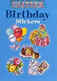 img - for Glitter Birthday Stickers (Dover Stickers) book / textbook / text book