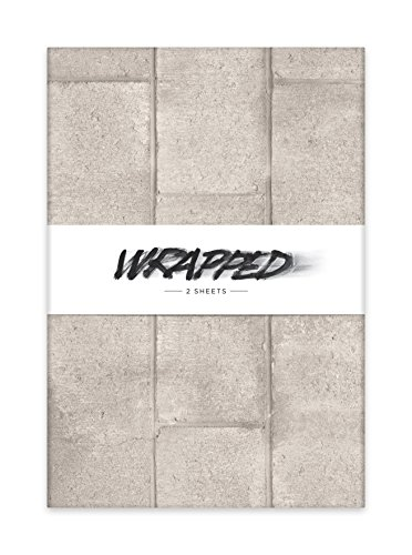 wrapped-autograph-photorealistic-cinderblock-wall-wrapping-paper-in-folded-pack-195-by-27-inch