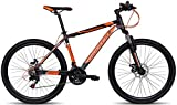 Montra Madrock Cycle, Adult Medium (Orange/Grey)