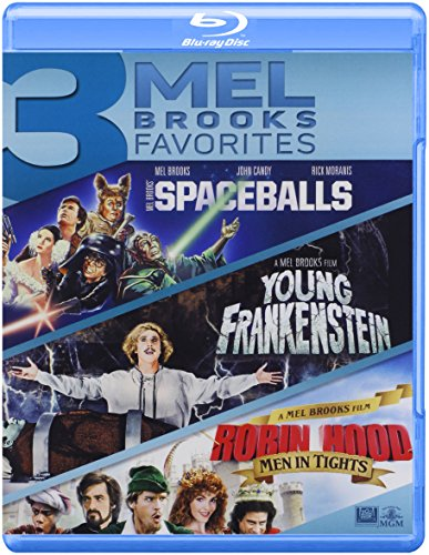 Spaceballs / Young Frankenstein / Robin Hood Triple Feature Blu-ray