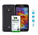 ZgearZ Extended Battery for Samsung Galaxy S5 7800 mAH Battery Pack. Use it as cell phone battery replacement for your Samsung S5. Included 9H Tempered Glass Screen Protector.