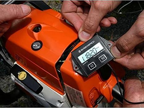Sierra Índice - Tacómetro digital para - Motosierra (y otros 2 ...