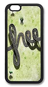 ACESR Free Way Slim iPhone 6 Case TPU Back Cover Case for Apple iPhone 6 4.7inch Black by lolosakes