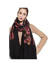 DANA XU Large Size Women Winter Pashmina Shawls and Wraps Cashmere