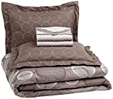 AmazonBasics 7-Piece Bed-In-A-Bag, Full/Queen, Industrial Grey - Best Reviews Guide