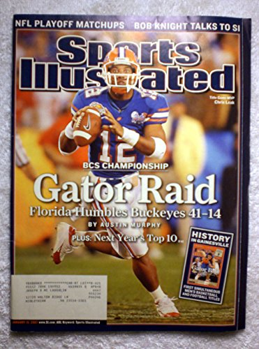 [Chris Leak - Florida Gators - 2006 National Champions! - Sports Illustrated - January 15, 2007 - Ohio State Buckeyes - College Football - SI] (2007 College Football Champion)