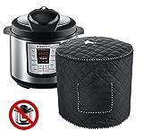 Instant Pot Cover 6 QT - Black Dustproof Electric Pressure Cooker Accessories Appliances Cover