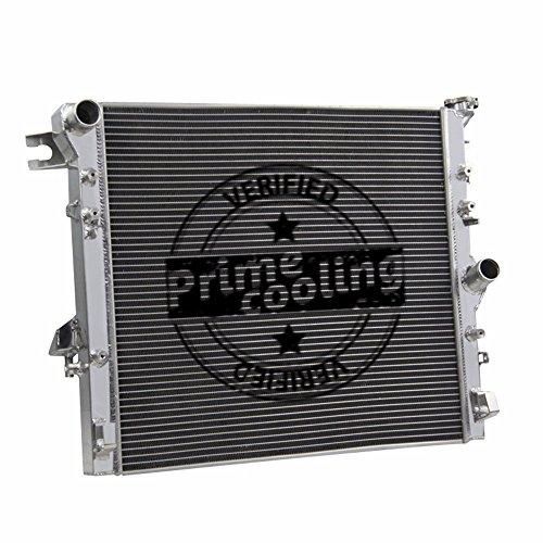 - Primecooling 45MM 3 Row Core Aluminum Radiator for Jeep Wrangler JK 3.6L 3.8L V6 2007-2017