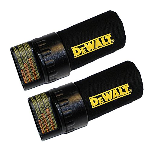 Dewalt DW421/DW422/D26450 Replacement (2 Pack) Sander Dust Bag # 380412-00-2pk
