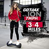 GOTRAX ION LED Hoverboard - UL Certified Hover