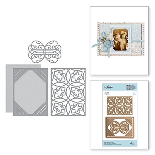 Shapeabilities Swirl Booklet Insert Etched/Wafer Thin Dies ()