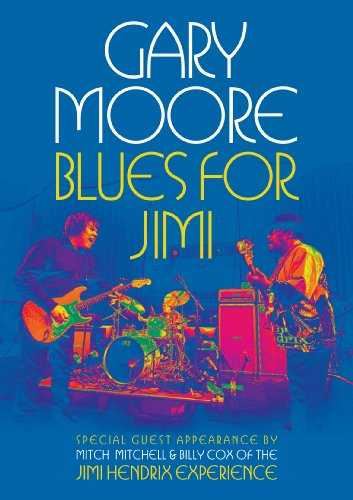 DVD : Gary Moore - Blues for Jimi: Live in London (DVD)