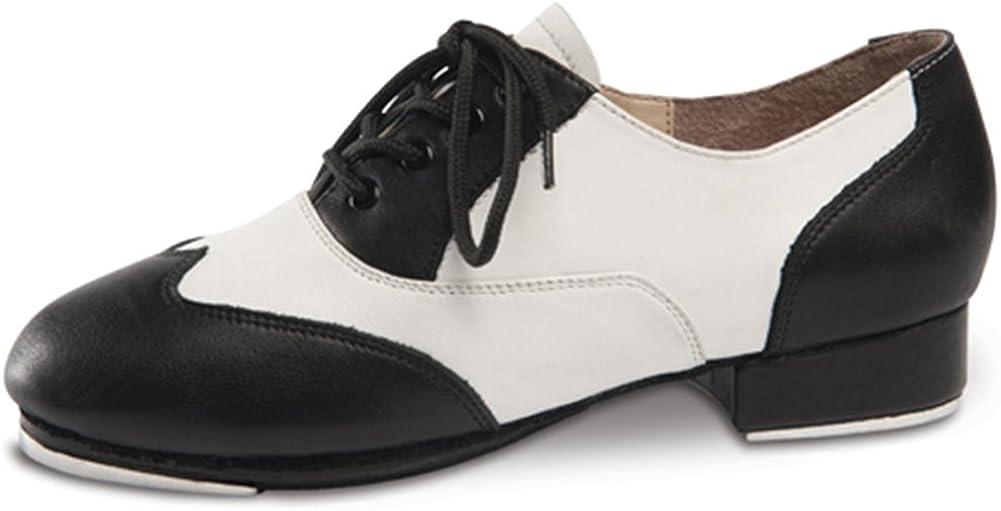 White Spectator Tap Shoe