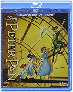 Cover Image for 'Peter Pan (Two-Disc Diamond Edition Blu-ray/DVD Combo in Blu-ray Packaging)'