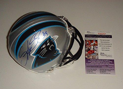 Steve Smith Sr Signed Carolina Panthers Mini Helmet - JSA Authentic Autograph - Steve Smith Autograph