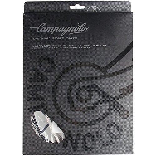 Campagnolo ErgoPower UltraShift Road Bike Black Brake/Shifter Cable/Housing Set - 9/10/11 Speed
