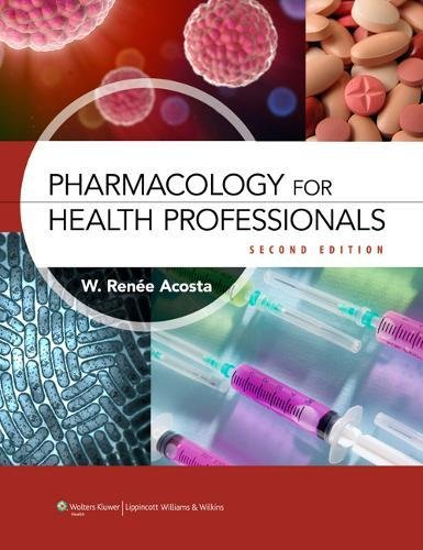 Pharmacology Health Professionals 2e Text & Study Guide Package